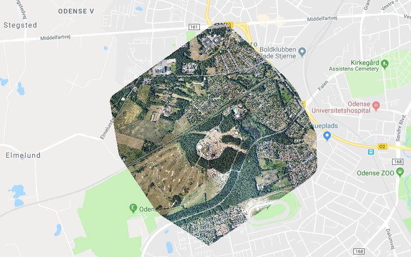 Ortofotos Kortlaegning Luftfotodanmark